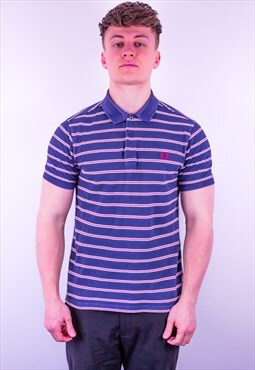 Vintage Fred Perry Striped Polo Shirt