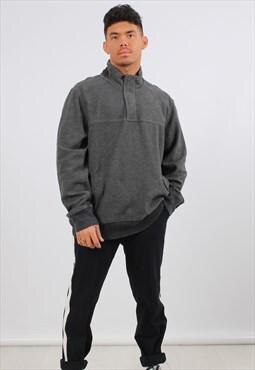 Vintage Eddie Bauer XL Grey 1/4 Zip Sweatshirt