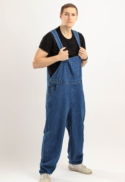 Vintage Kettle Creek Denim Dungaress Navy