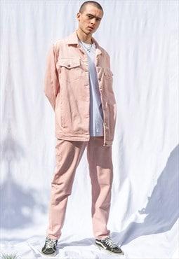 Unisex straight leg  corduroy trousers