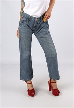 KICK FLARE LEVIS Reworked Jeans Flared UK 12 (H31H)