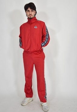 Kappa full suit red