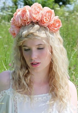 Flower Crown, Floral Crown, Flower Garland, Floral Garland