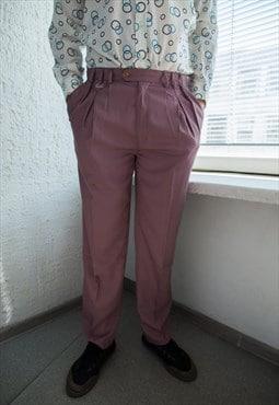 Vintage 80's Purple Trousers