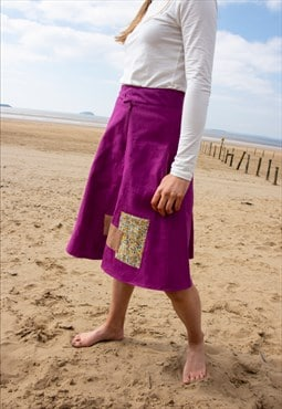 Purple A Line MAHALE Skirt