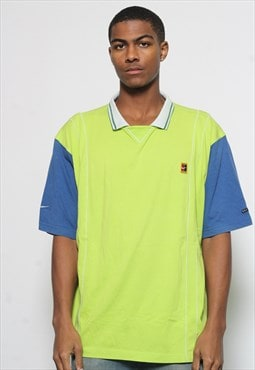 Vintage Nike Court Polo Shirt Green