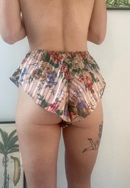 Little Semi Sheer French Knickers. Summer Beach Shorties