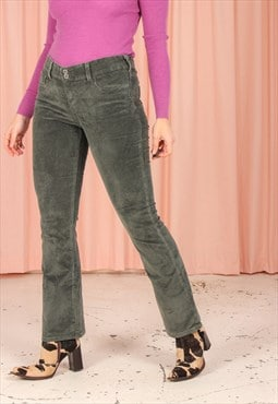 Vintage 90s Levi's Corduroy Trousers in Green