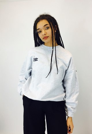 UMBRO EMBROIDERED SWEATSHIRT