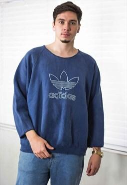 Vintage Adidas Sweatshirt Jumper Logo 90s X 20.7