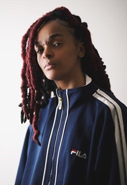 FILA Vintage Tracksuit sports  Top  / zip up