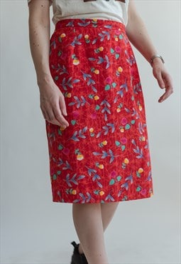 Vintage 80s skirt in pencil fit