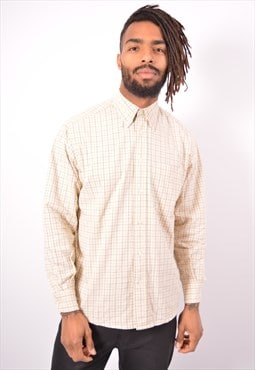 Vintage Gap Shirt Check Beige