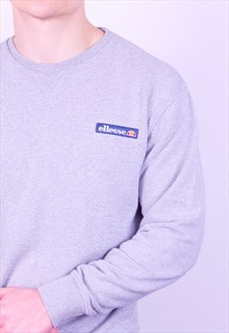 Vintage Ellesse Sweatshirt in Grey