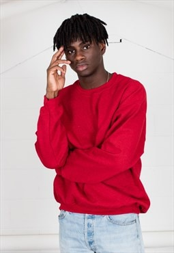 Cosmic Saint Mens Red Sweatshirt