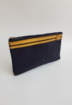 Vintage Navy Military style Clutch