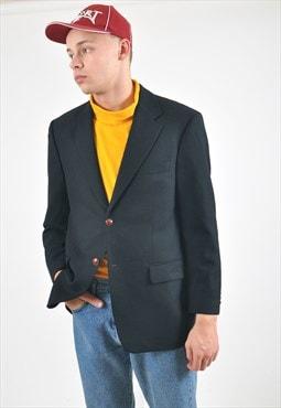Vintage HUGO BOSS blaze suit in black