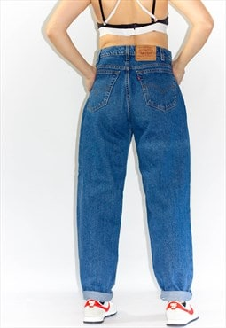 Vintage 80's High Rise Baggy Fit Levi Mom Jeans