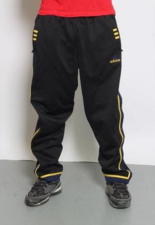 VINTAGE ADIDAS TRACK PANTS BLACK