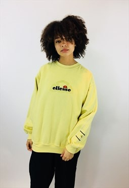 Vintage Ellesse Embroidered Sweatshirt