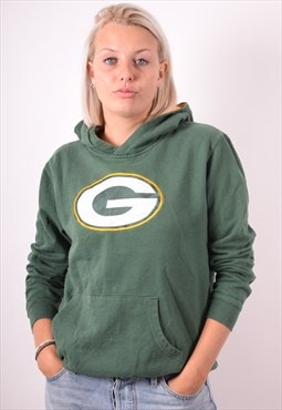 NFL Womens Vintage Green Bay Packers Hoodie Sweater XL 90s