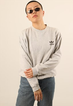 Vintage Adidas Embroidered Logo Sweatshirt