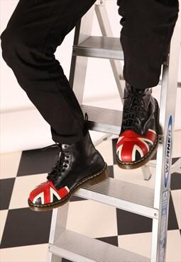 Dr Marten's Unions Jack Black Lace Up Boots