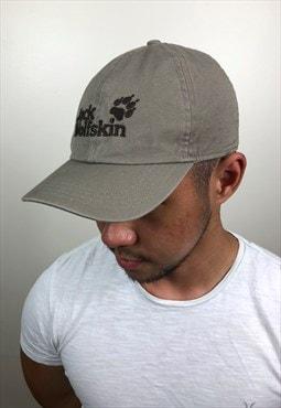 Vintage Beige Jack Wolfskin Cap