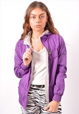 Vintage Helly Hansen Reversible Jacket Purple
