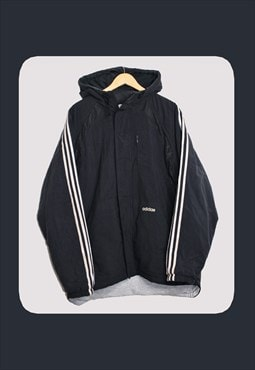 Vintage 90's Adidas Black Coat (See Description)