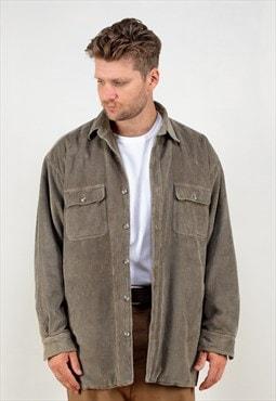 Vintage 90's Blanket Cord Jacket