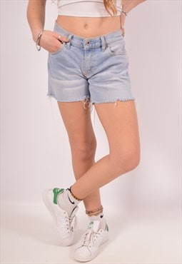 Vintage Diesel Denim Shorts Blue