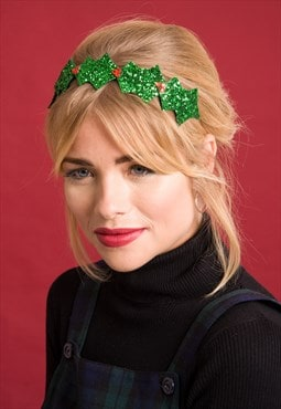 Christmas Holly Hairband