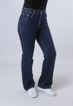 Denim Bootcut Jeans Vintage UK 10 (BJAR)