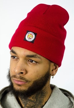 Sports Club Beanie Red