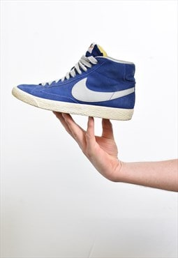 Nike Royal Blue Blazer Hi-Top Trainers