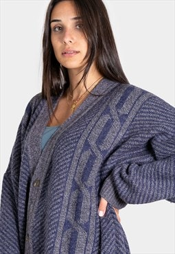 """Vintage 80s """"AvelinasSelections"""" Knit  Cardigan SP202251"""