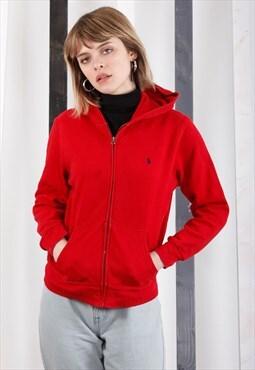 Vintage Ralph Lauren hooded sweatshirt / hoodie. Unisex.