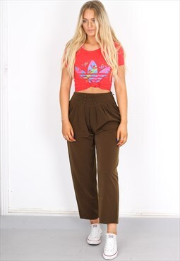 Vintage brown party pant