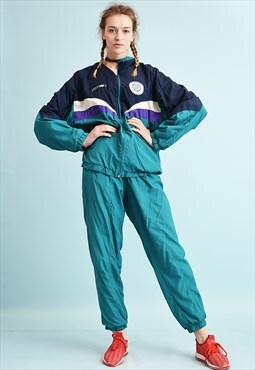 90's retro athleisure tracksuit sports co-ord two piece