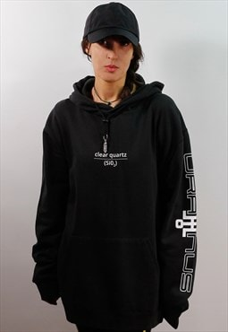 Clear Quartz Crystal Graphic Hoodie