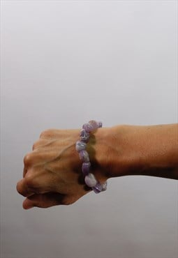 Powerful purple Amethyst bracelet