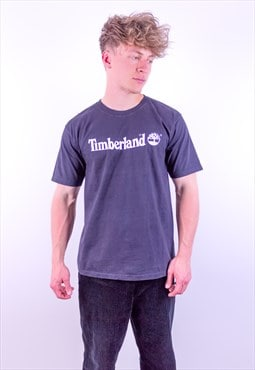 Vintage Timberland T-Shirt in Black