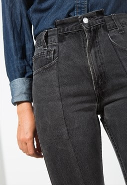 Vintage 80s Reworked Levis Deconstructed Mom Denim Jean