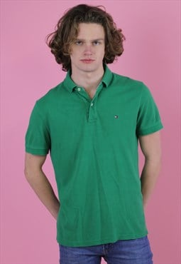 Green  Tommy Hilfiger Vintage Polo T shirt