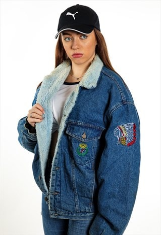 VINTAGE DENIM SHAPER JACKET J2317