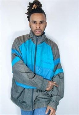 vintage lotto jacket blue