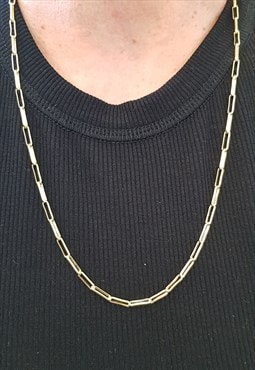 1990s Vintage Gold Plated Necklace