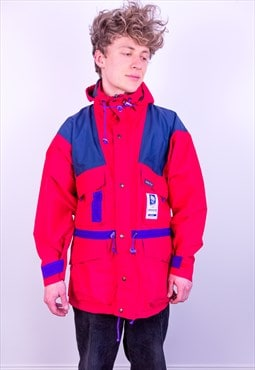 Vintage Sport Master Gore-Tex Olympic Jacket in Red & Blue