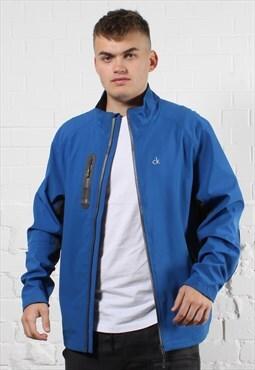 Vintage Calvin Klein Jacket in Blue w/ Logo